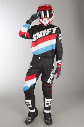 Shift Whit3 Tarmac Black-White-Blue