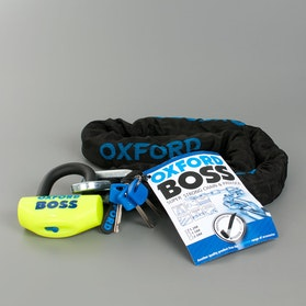 Låsepakke Oxford Boss + 12,7mm Kæde