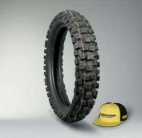 Dunlop Geomax MX71 Tyre + Cap