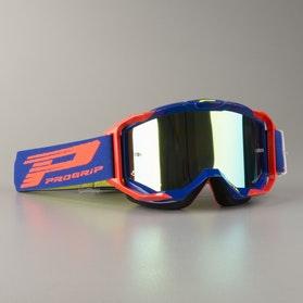 Briller ProGrip 3303 Vista flerlags, Spejlglas, Blå/Orange