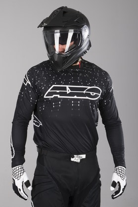 Axo Galaxy MX-Jersey Black-White