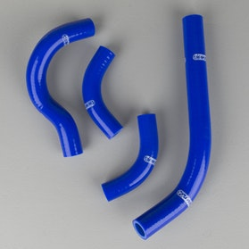 Jax Metal Radiator Hoses - Blue