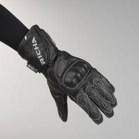 Rękawice Richa Waterproof Racing Czarne