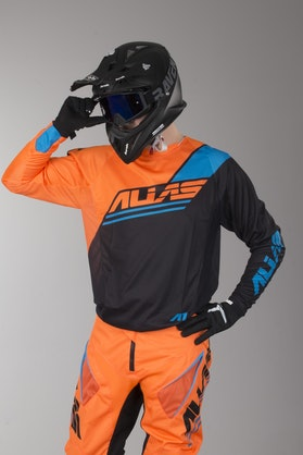 Alias A1 Jersey Analogue Black-Neon Orange