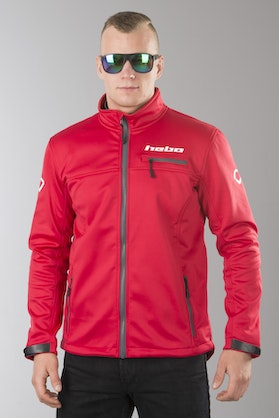 Hebo Baggy Softshell Jacket Red
