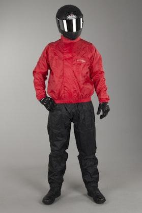 Acerbis Logo Rain Suit Red & Black