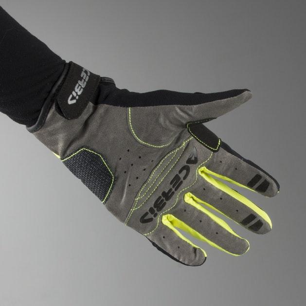Acerbis Carbon 3.0 Gloves Black-Yellow