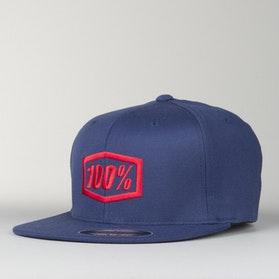 100% Essential FF Cap Navy