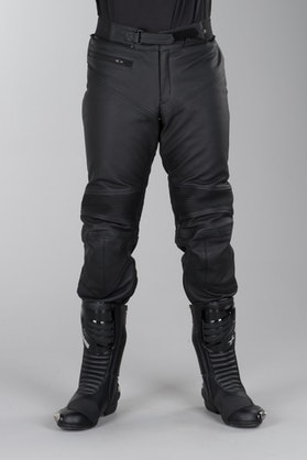 IXS Tayler Leather Trousers Short Black