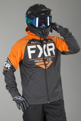 Bluza FXR Ride Tech Charcoal-Pomaranczowa