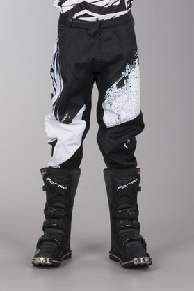 Alias Youth A2 Pants Brushed Black-White