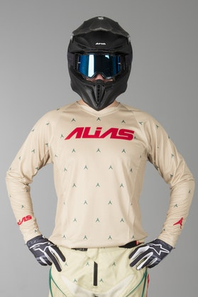 Alias A1 Designer MX Jersey Tan