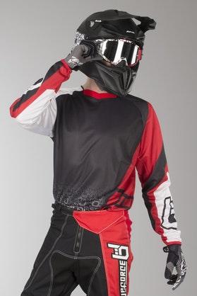 Bluza Cross Upforce Czarno-Czerwona