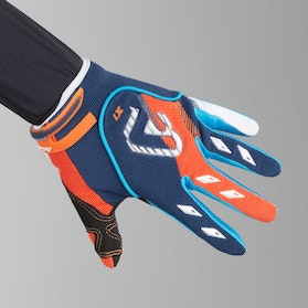 Acerbis MX-X2 Youth Motocross Gloves Blue-Orange
