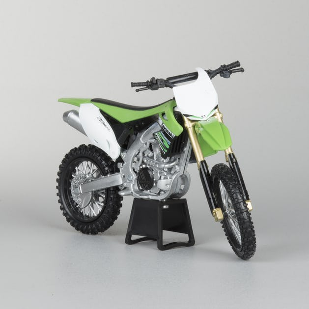 Kawasaki KX-450F Dirt/Motocross Motorcycle 1/12 Scale