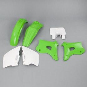 Komplet plastików Polisport Zielono- Biały