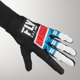 FLY Evo MX-Gloves - Red-Blue-Black