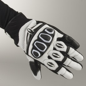 Rękawice Richa Turbo Czarno-Białe