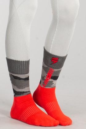 Shift Moto Camo Socks Grey-Camo