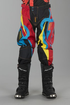 Acerbis Profile MX Trousers Red-Black