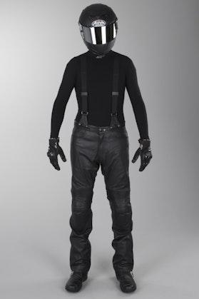 IXS Grimstad Leather Trousers Long Black