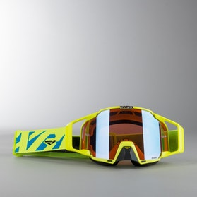 Gogle Cross FXR Pilot HiVis-Niebieskie