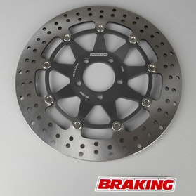 Front Brake Disc - Round STX