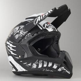 Airoh Switch Backbone MX Helmet Matte Black