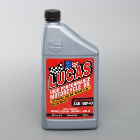 Lucas Oil SAE 10W-40W Semi-Synthetic Engine Oil, 946 ml