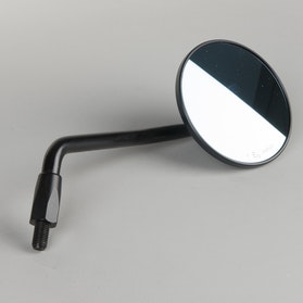 LSL Clubman Rear Mirror - Black