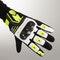 Rękawice Spidi G-Carbon Czarno-Fluorescencyjno-Żółte