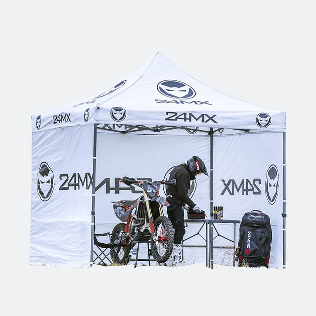 Depåtält & Race Tält för Cross & Enduro 24mx.se