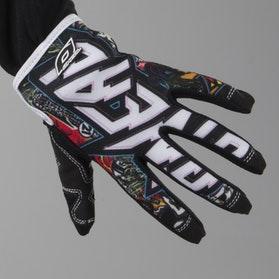 Jump Crank Youth Motocross Gloves Black