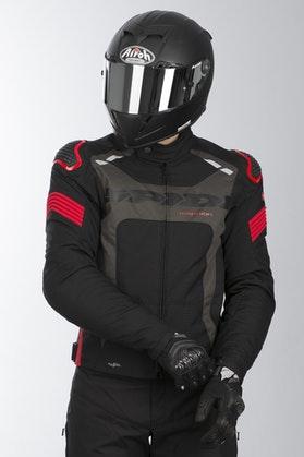 Spidi Warrior H2Out Jacket Black-Red