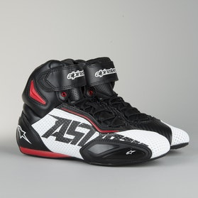 Alpinestars Faster 2 Vented Racing Shoes Black-White-Red