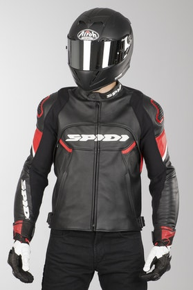 Ignite Leather Jacket Red