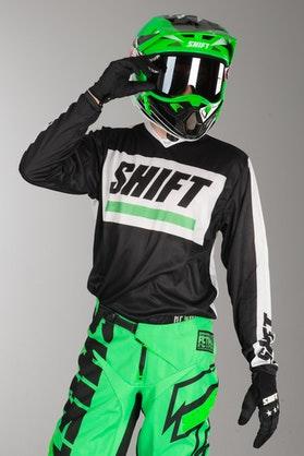 Bluza Cross Shift Recon Caliber Czarno-Biała MX 15