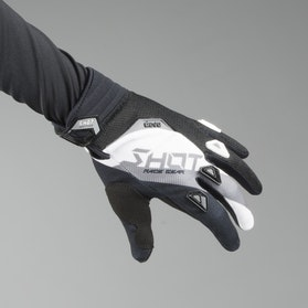 Shot Devo Alert MX-Gloves Black-White
