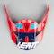 GPX 4.5 V19.2 #M-XXL Helmet Peak Red-Ink