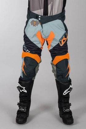 Spodnie enduro Klim XC Pomarańczowy