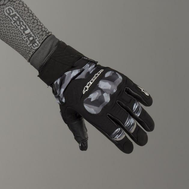 Alpinestars C-30 Drystar Gloves - Black-Camo
