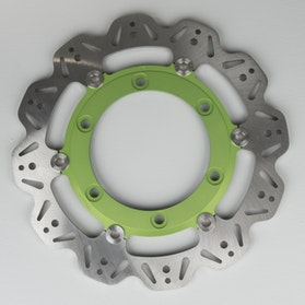Brzdový kotouč-EBC-Vee-Rotor-Přední-Zelená