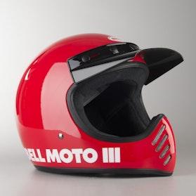 KaSK Bell Moto 3 Classic Czerwony