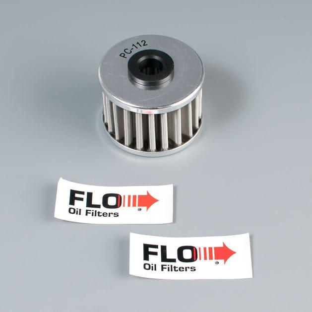 FLO Stainless Oil Filter