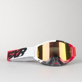 Gogle Cross FXR Boost Czerwono-Biało-Czarne