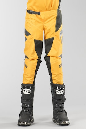 Shift Youth Whit3 Ninety Seven MX Trousers Yellow MX 18