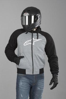 Bluza z Kapturem Alpinestars Chrome Sport Szaro-Czarna