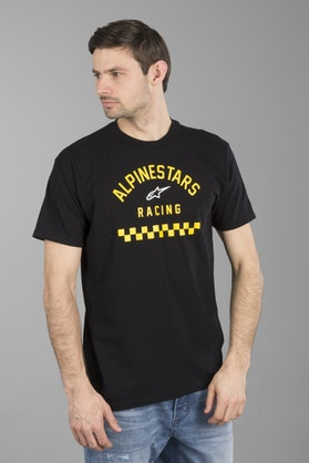 T-Shirt Alpinestars Front Tee Czarny