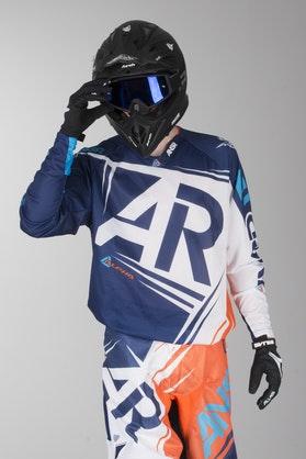 Bluza cross Answer A16 Alphaair niebiesko-pomarańczowa