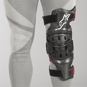 Chránič Kolen Alpinestars Vänster Bionic-10 Černo-Červený